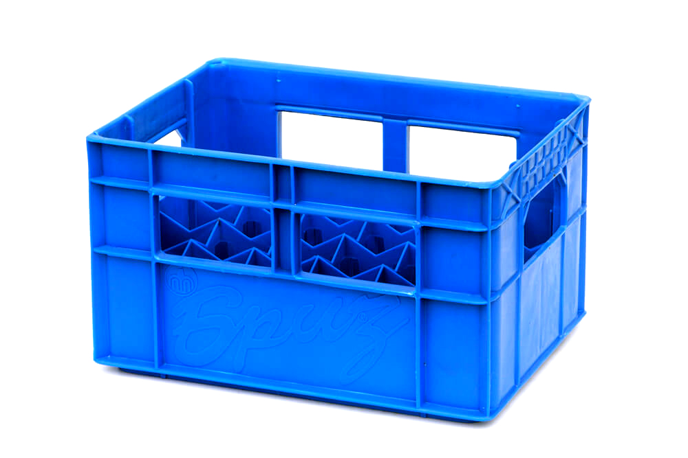 Non-alcoholic beverages and bottled water crates - 400х300х235мм